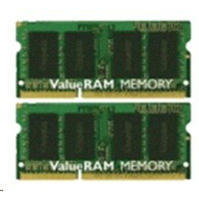 Модуль оперативной памяти ноутбука Kingston KVR13S9K2/16 16Gb DDR3 (KVR13S9K2/16)Модули оперативной памяти ноутбука Kingston<br>Kingston 16GB 1333MHz DDR3 Non-ECC CL9 SODIMM (Kit of 2)<br>