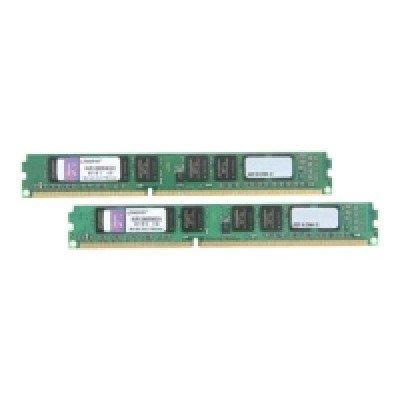 Модуль оперативной памяти ПК Kingston KVR13N9S8K2/8 8Gb DDR3 (KVR13N9S8K2/8)Модули оперативной памяти ПК Kingston<br>Kingston DIMM 8GB 1333MHz DDR3 Non-ECC CL9  SR x8 (Kit of 2)<br>