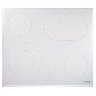 Электрическая варочная панель Korting HK 6205 BW (HK 6205 BW)Электрические варочные панели Korting<br>электрическая варочная панель<br>стеклокерамическая поверхность<br>керамические конфорки<br>двухконтурная конфорка<br>конфорка с овальной зоной нагрева<br>переключатели сенсорные<br>защита от детей<br>индикатор остаточного тепла<br>независимая установка<br>