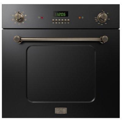 Электрический духовой шкаф Korting OKB 1082 CRN (OKB 1082 CRN)Электрические духовые шкафы Korting<br>электрическая независимая духовка<br>60 см<br>поворотные переключатели<br>дисплей<br>телескопические направляющие<br>конвекция<br>гриль<br>