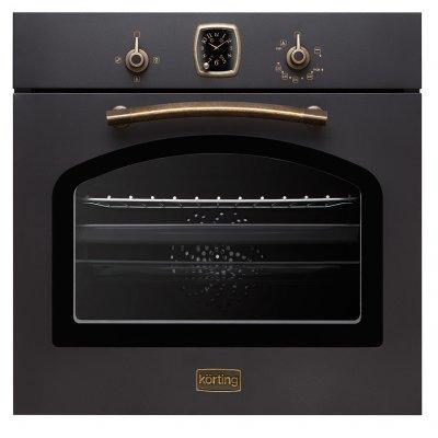 Газовый духовой шкаф Korting OGG 741 CRN (OGG 741 CRN)Газовые духовые шкафы Korting<br>Размеры (ВхШхГ): 59.5 х 59.5 x 56.5 см Духовка: газовая независимая Объём духовки: 67 л<br>