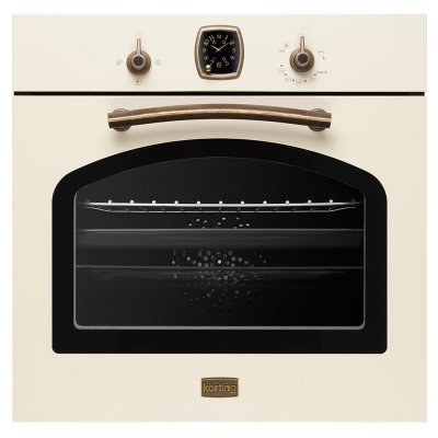 Газовый духовой шкаф Korting OGG 741 CRB (OGG 741 CRB)Газовые духовые шкафы Korting<br>Размеры (ВхШхГ): 59.5 х 59.5 x 56.5 см Духовка: газовая независимая Объём духовки: 67 л<br>