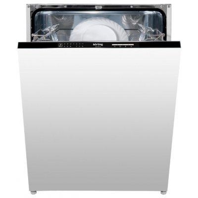 Посудомоечная машина Korting KDI 60130 (KDI 60130)Посудомоечные машины Korting<br>напольная посудомоечная машина 60 см<br>встраиваемая полностью<br>конденсационная сушка<br>расход воды 14 л<br>расход электричества 1.05 кВт·ч<br>уровень шума при работе 49 дБ<br>полная защита от протечек<br>