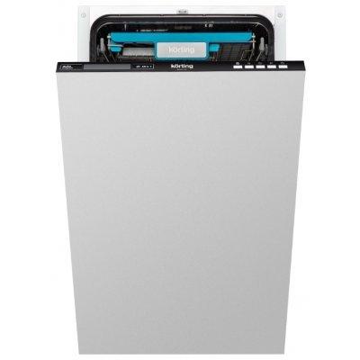 Посудомоечная машина Korting KDI 45165 (KDI 45165)Посудомоечные машины Korting<br>напольная посудомоечная машина 45 см<br>встраиваемая полностью<br>сушка горячим воздухом<br>расход воды 9 л<br>расход электричества 0.74 кВт·ч<br>дисплей<br>уровень шума при работе 47 дБ<br>полная защита от протечек<br>