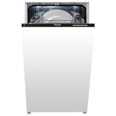 Посудомоечная машина Korting KDI 45130 (KDI 45130)Посудомоечные машины Korting<br>напольная посудомоечная машина 45 см<br>встраиваемая полностью<br>конденсационная сушка<br>расход воды 12 л<br>расход электричества 0.74 кВт·ч<br>уровень шума при работе 49 дБ<br>частичная защита от протечек<br>