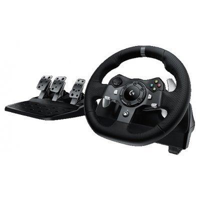 Руль проводной Logitech G920 Driving Force (941-000123), арт: 228884 -  Рули проводные Logitech