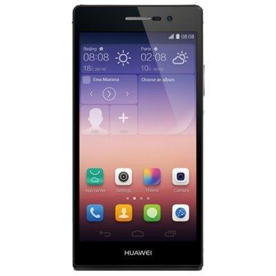 где купить Смартфон Huawei Ascend P7 P7-L10 черный (51090359) дешево