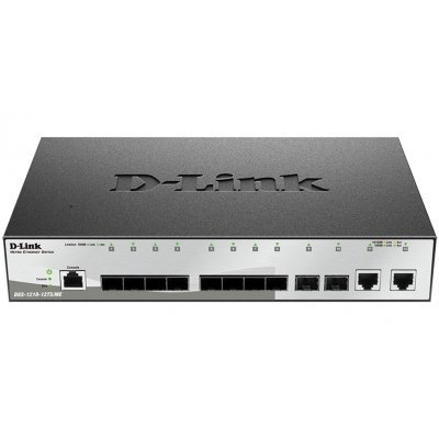 Коммутатор D-Link DGS-1210-12TS/ME/B1A (DGS-1210-12TS/ME/B1A) коммутатор d link dgs 3120 48pc b1ari dgs 3120 48pc b1ari