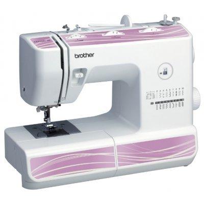 Швейная машина Brother Classic 20 белый (CLASSIC 20)Швейные машины Brother<br>швейная машина<br>электромеханическое управление<br>плавная работа без вибрации<br>19 швейных операций<br>полуавтоматическая обработка петли<br>обметочная строчка<br>