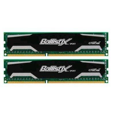 Модуль оперативной памяти ПК Crucial BLS2CP4G3D1609DS1S00CEU 8Gb DDR3 (BLS2CP4G3D1609DS1S00CEU)Модули оперативной памяти ПК Crucial<br>Память DDR3 2x4Gb 1600MHz Crucial BLS2CP4G3D1609DS1S00CEU RTL PC3-12800 CL9 DIMM 240-pin 1.5В kit<br>