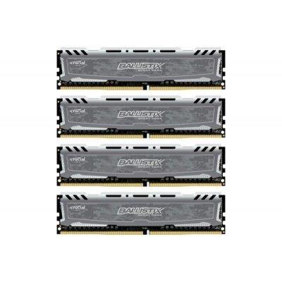 Модуль оперативной памяти ПК Crucial BLS4C8G4D240FSB 32Gb DDR4 (BLS4C8G4D240FSB)Модули оперативной памяти ПК Crucial<br>Память DDR4 4x8Gb 2400MHz Crucial BLS4C8G4D240FSB RTL PC4-19200 CL16 DIMM 288-pin 1.2В<br>