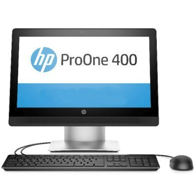Моноблок HP ProOne 400 G2 (T4R56EA) (T4R56EA)Моноблоки HP<br>Моноблок HP ProOne 400 G2 20 Full HD i3 6100T (2.9)/4Gb/500Gb 7.2k/HDG/DVDRW/Windows 10 Single Language 64/GbitEth/WiFi/клавиатура/мышь/синий 1600x900<br>