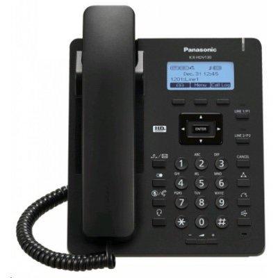VoIP-телефон Panasonic KX-HDV130RU черный (KX-HDV130RUB)VoIP-телефоны Panasonic<br>Телефон SIP Panasonic KX-HDV130RUB черный<br>