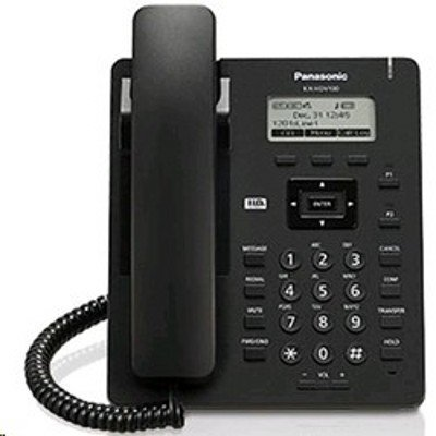 VoIP-телефон Panasonic KX-HDV100RUB черный (KX-HDV100RUB) practical voip security