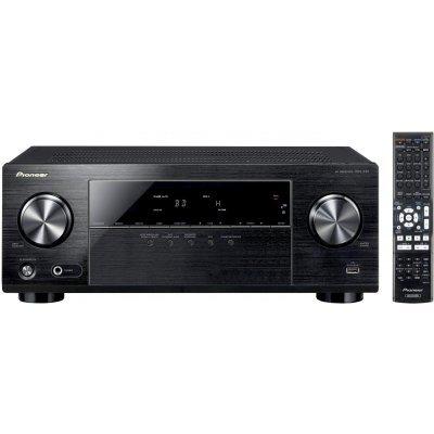 AV-Ресивер Pioneer VSX-330-K 5.1 черный (VSX-330-K)AV-Ресиверы Pioneer<br>ресивер 5.1, поддержка 4K (Ultra HD), мощность на 1 канал: 105 Вт, соотн. сигнал/шум: 98, ЦАП/АЦП: 96 кГц/24-бит, тюнер FM/AM, 4x HDMI in, 1x HDMI out, линейный и композитный входы, цифровой оптический и коаксиальный аудиовходы, USB, энергопотребление: 15<br>