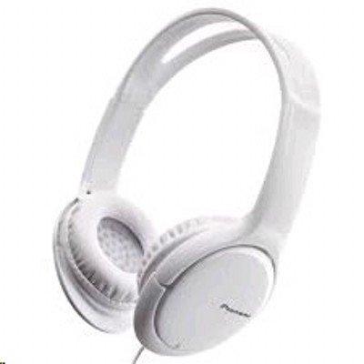 Наушники Pioneer SE-MJ711 белый (SE-MJ711-W)Наушники Pioneer<br>Наушники мониторы Pioneer SE-MJ711-W 1.2м белый проводные (оголовье)<br>