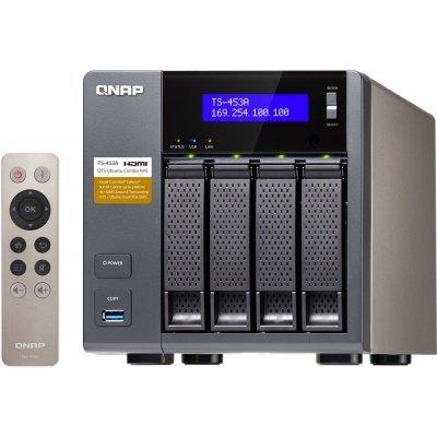 Сетевой накопитель NAS Qnap TS-453A-4G (TS-453A-4G) nas qnap ts 651 4g