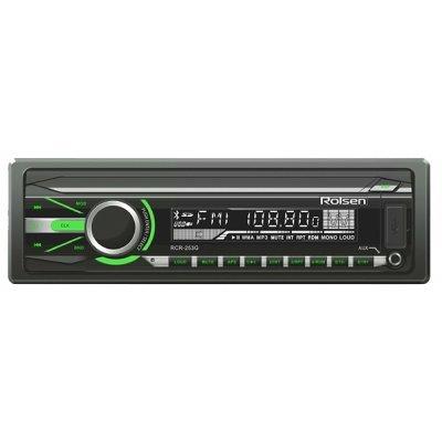 Автомагнитола Rolsen RCR-253G (1-RLCA-RCR-253G)Автомагнитолы Rolsen<br>автомагнитола 1 DIN<br>макс. мощность 4 x 45 Вт<br>воспроизведение с USB<br>аудиовход на передней панели<br>радиоприемник<br>поддержка карт памяти SD<br>