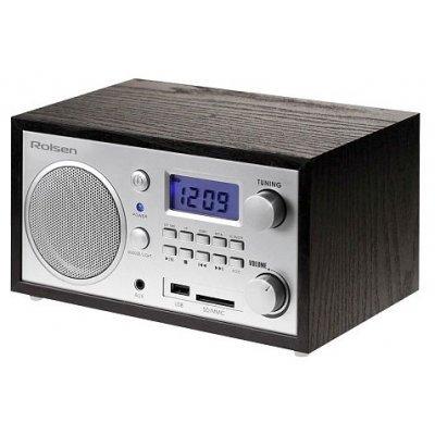 Радиобудильник Rolsen RFM-300 венге (1-RLDB-RFM-300)