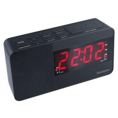 Радиобудильник Rolsen CR-210 черный (1-RLDB-CR-210)Радиобудильники Rolsen<br>Радиобудильник Rolsen CR-210 черный LCD проек.изоб. подсв:синяя часы:цифровые AM/FM/УКВ<br>