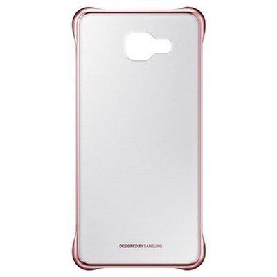 Чехол для смартфона Samsung для Galaxy A7 Clear Cover A710 розовый (EF-QA710CZEGRU) (EF-QA710CZEGRU) чехол из экокожи для samsung galaxy a7 2016 sm a710 светло зеленый mariso