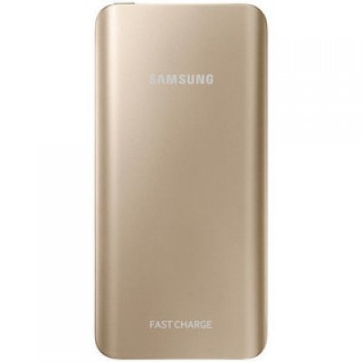 Внешний аккумулятор для портативных устройств Samsung EB-PN920U золотистый (EB-PN920UFRGRU)Внешние аккумуляторы для портативных устройств Samsung<br>Мобильный аккумулятор Samsung EB-PN920UFRGRU 5200mAh 2A золотистый 1xUSB<br>