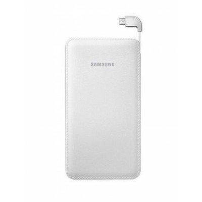 Внешний аккумулятор для портативных устройств Samsung EB-PN915B белый (EB-PN915BWRGRU)Внешние аккумуляторы для портативных устройств Samsung<br>Мобильный аккумулятор Samsung EB-PN915B 11300mAh 2A белый 2xUSB<br>