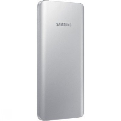 Внешний аккумулятор для портативных устройств Samsung EB-PA500U серебристый (EB-PA500USRGRU)Внешние аккумуляторы для портативных устройств Samsung<br>Мобильный аккумулятор Samsung EB-PA500 5200mAh 1.8A серебристый 1xUSB<br>