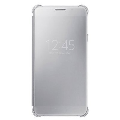 Чехол для смартфона Samsung для Galaxy A7 (6) Clear View Cover серый (EF-ZA710CSEGRU) (EF-ZA710CSEGRU)Чехлы для смартфонов Samsung<br>Чехол (клип-кейс) Samsung для Samsung Galaxy A7 (6) Clear View Cover серый (EF-ZA710CSEGRU)<br>