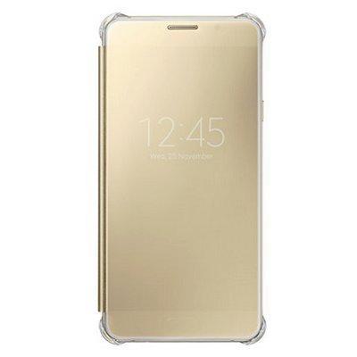 Чехол для смартфона Samsung для Galaxy A7 (6) Clear View Cover золотистый (EF-ZA710CFEGRU) (EF-ZA710CFEGRU) чехол клип кейс samsung clear cover для samsung galaxy s8 черный [ef qg955cbegru]