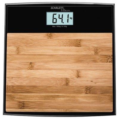 Весы Scarlett SC-BS33E064 (SC-BS33E064)Весы Scarlett<br>электронные напольные весы<br>стеклянная платформа<br>нагрузка до 180 кг<br>очень точное измерение<br>автовключение, автовыключение<br>