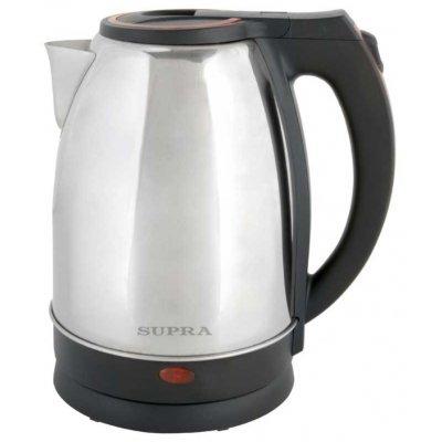 Электрический чайник Supra KES-2231 серебристый/красный ( KES-2231 серебристый/красный) термопот supra tps 3016 730 вт 4 2 л металл серебристый
