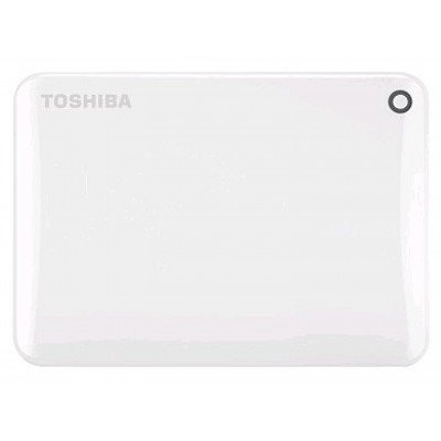 Внешний жесткий диск Toshiba HDTC810EW3AA 1Tb (HDTC810EW3AA)Внешние жесткие диски Toshiba<br>Жесткий диск Toshiba USB 3.0 1Tb HDTC810EW3AA Canvio Connect II 2.5 белый<br>