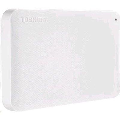 Внешний жесткий диск Toshiba HDTP210EW3AA 1Tb (HDTP210EW3AA)Внешние жесткие диски Toshiba<br>Жесткий диск Toshiba USB 3.0 1Tb HDTP210EW3AA Canvio Ready 2.5 белый<br>