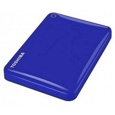 Внешний жесткий диск Toshiba HDTC810EL3AA 1Tb голубой (HDTC810EL3AA)Внешние жесткие диски Toshiba<br>Внешний жесткий диск USB3 1TB EXT. 2.5 BLUE HDTC810EL3AA TOSHIBA<br>