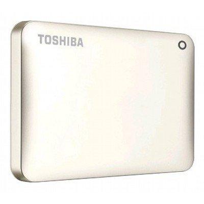 Внешний жесткий диск Toshiba HDTC810EC3AA 1Tb золотистый (HDTC810EC3AA) жесткий диск 1tb toshiba 3 5 mars dt01aca100 dt01aca100