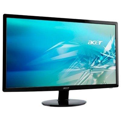 Монитор Acer 23 S230HLBb (UM.VS0EE.B06)Мониторы Acer<br>ACER 23 S230HLBb LED, 1920x1080, 5ms, 200cd/m2, 100M:1, D-SUB, DVI, slim, Glossy Black<br>