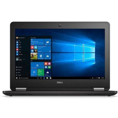 Ультрабук Dell Latitude E7270 (7270-0561) (7270-0561)Ультрабуки Dell<br>Core i7-6600U 2.6GHz,12.5 FHD IPS Antiglare Touch,Cam,8GB DDR3(2),512GB SSD,Intel HD Graphics 520,WiFi,4G-LTE,TPM,4C,1.38kg,3y,Win7Pro(64)+WIn10 Pro Licence<br>