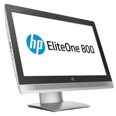 Моноблок HP EliteOne 800 G2 (V6K46EA) (V6K46EA)Моноблоки HP<br>All-in-One 23 (1920 x 1080) NT Pentium G4400,4GB DDR4 (1x4GB),500GB 7200 RPM,DVD,USB kbd/mouse,High Adjustable stand,BCM 802.11n BT,FreeDos, 3-3-3 Wty<br>
