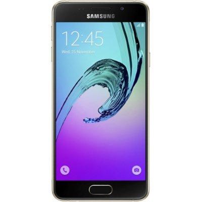 Смартфон Samsung Galaxy A3 (2016) золотистый (SM-A310FZDDSER)Смартфоны Samsung<br>Android 5.1, поддержка двух SIM-карт, экран 4.7, разрешение 1280x720, камера 13 МП<br>