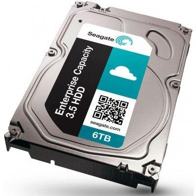 Жесткий диск серверный Seagate ST6000NM0034 (ST6000NM0034)Жесткие диски серверные Seagate<br>HDD SAS Seagate 6000Gb (6Tb), ST6000NM0034, Enterprise Capacity 3.5, SAS 12Gb/s, 7200 rpm, 128Mb buffer<br>