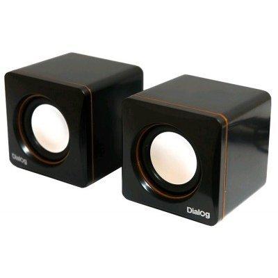 Компьютерная акустика Dialog AC-04UP черный/оранжевый (AC-04UP black-orange) moscow video souvenir