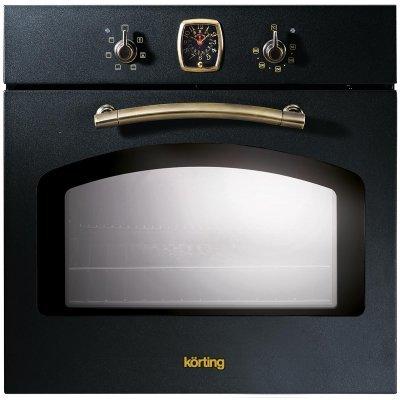 Электрический духовой шкаф Korting OKB 460 RN (OKB 460 RN)Электрические духовые шкафы Korting<br>Черный; Высота: 60 см; Ширина: 60 см; Глубина: 55 см; Внутренний объем: 67 л.<br>