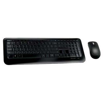 Комплект клавиатура+мышь Microsoft Wireless Desktop 850 Black USB (PY9-00012)Комплекты клавиатура мышь Microsoft<br>беспроводные клавиатура и мышь<br>интерфейс USB<br>для настольного компьютера<br>классическая клавиатура<br>клавиш: 125, дополнительных: 21<br>светодиодная мышь, 3 клавиши<br>
