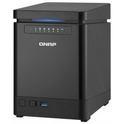 Сетевой накопитель NAS Qnap TS-453mini-8G (TS-453mini-8G)Сетевые накопители NAS Qnap<br>Сетевой накопитель QNAP TS-453mini-8G<br>