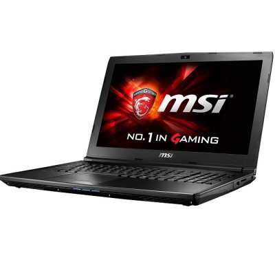 Ноутбук MSI GL62 6QD-028RU (9S7-16J612-028)Ноутбуки MSI<br>GL62 6QD (MS-16J6)  15.6   HD(1366x768) nonGLARE/Intel Core i5-6300HQ 2.30GHz Quad/8GB/1TB/GF GTX950M 2GB/HM170/DVD-RW/WiFi/BT4.0/1.0MP/SDXC/6cell/2.30kg/W10/1Y/BLACK<br>