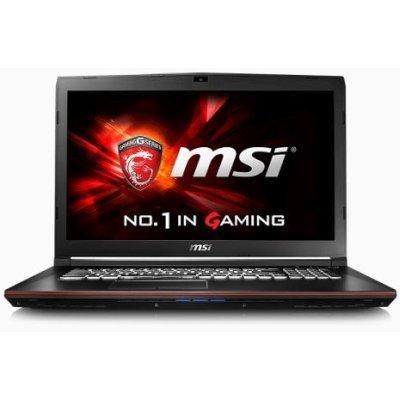 Ноутбук MSI GP72 6QF-274RU (9S7-179553-274)Ноутбуки MSI<br>GP72 6QF (MS-1795)  17.3   FHD(1920x1080) nonGLARE/Intel Core i5-6300HQ 2.30GHz Quad/8GB/1TB/GF GTX960M 2GB/HM170/DVD-RW/WiFi/BT4.0/1.0MP/SDXC/6cell/2.60kg/W10/1Y/BLACK<br>