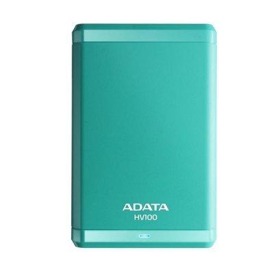 Внешний жесткий диск A-Data HV100 1Tb голубой (AHV100-1TU3-CBL)Внешние жесткие диски A-Data<br>Внешний жесткий диск 1TB A-DATA HV100, 2,5 , USB 3.0, голубой<br>