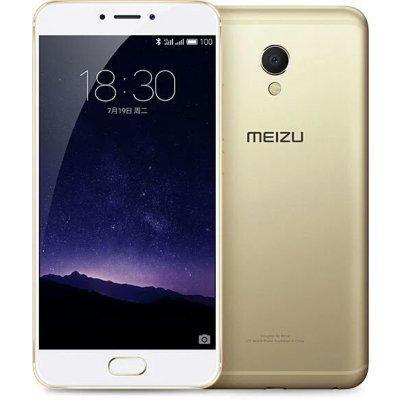 Смартфон Meizu MX6 32Gb Ram 4Gb золотистый (M685H-32-GW)Смартфоны Meizu<br>MX6 Gold, 5.5 1920x1080, 1.4GHz+1.9GHz+2.3GHz, 4+4+2 Core, 4GB RAM, 32GB, 12Mpix/5Mpix, 2 Sim, 2G, 3G, LTE, BT, Wi-Fi, GPS, Glonass, 3060mAh, Android 6.0, 155g, 153.6x75.2x7.2, считыватель отпечатков пальцев<br>
