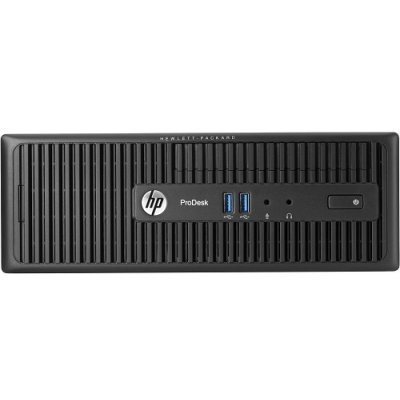 Настольный ПК HP ProDesk 600 G2 (V6K73ES) (V6K73ES)Настольные ПК HP<br>SFF Core i3-6100,4GB DDR4-2133 DIMM (1x4GB),1TB 7200 RPM SATA,SuperMulti DVDRW,USB Slim kbd,USBmouse,Solenoid Lock,FreeDOS,3-3-3 Wty<br>